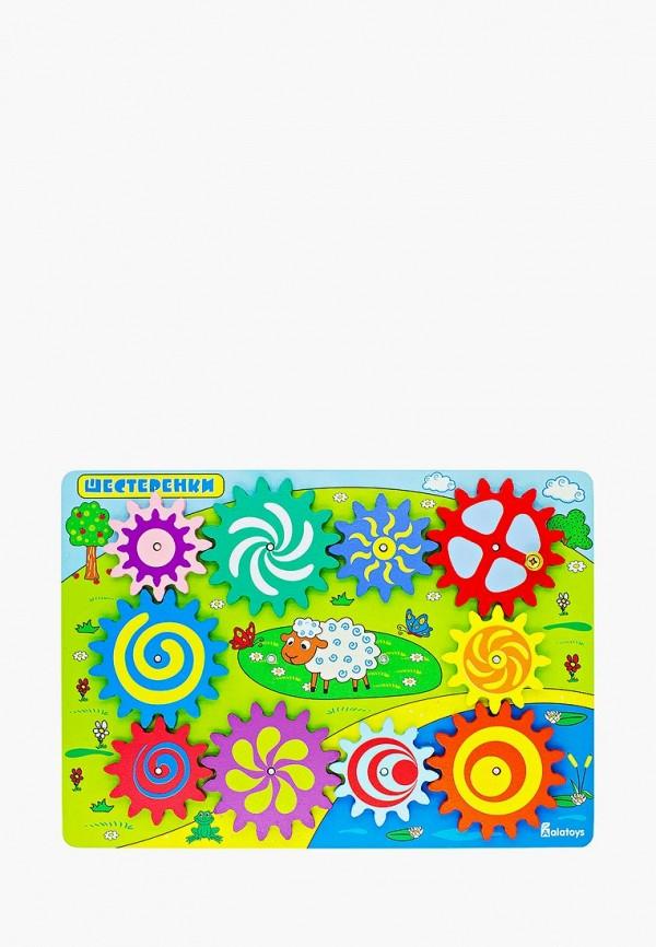 Купить Набор игровой Alatoys, Бизиборд Шестеренки , mp002xc005xg, разноцветный, Осень-зима 2018/2019