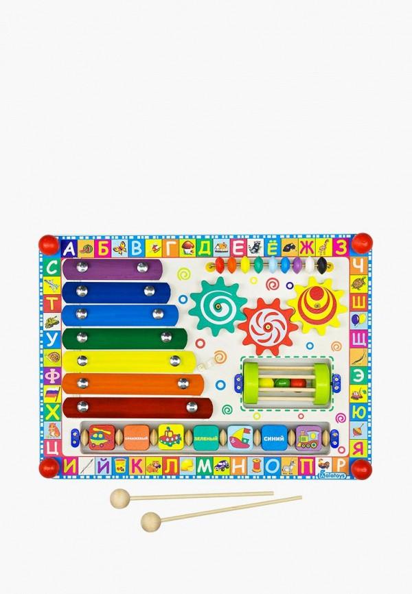 Купить Набор игровой Alatoys, Бизиборд Веселая радуга , mp002xc005xj, разноцветный, Осень-зима 2018/2019