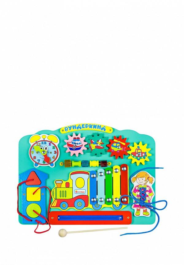 Купить Набор игровой Alatoys, Бизиборд Вундеркинд , MP002XC005Z9, разноцветный, Осень-зима 2018/2019