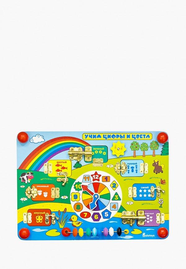 Купить Набор игровой Alatoys, Бизиборд Учим цифры и цвета , mp002xc005zb, разноцветный, Весна-лето 2019