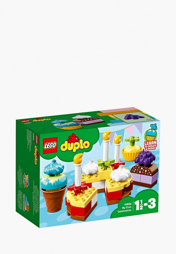 Конструктор DUPLO LEGO LEGO MP002XC005ZG lego duplo 10817 времена года