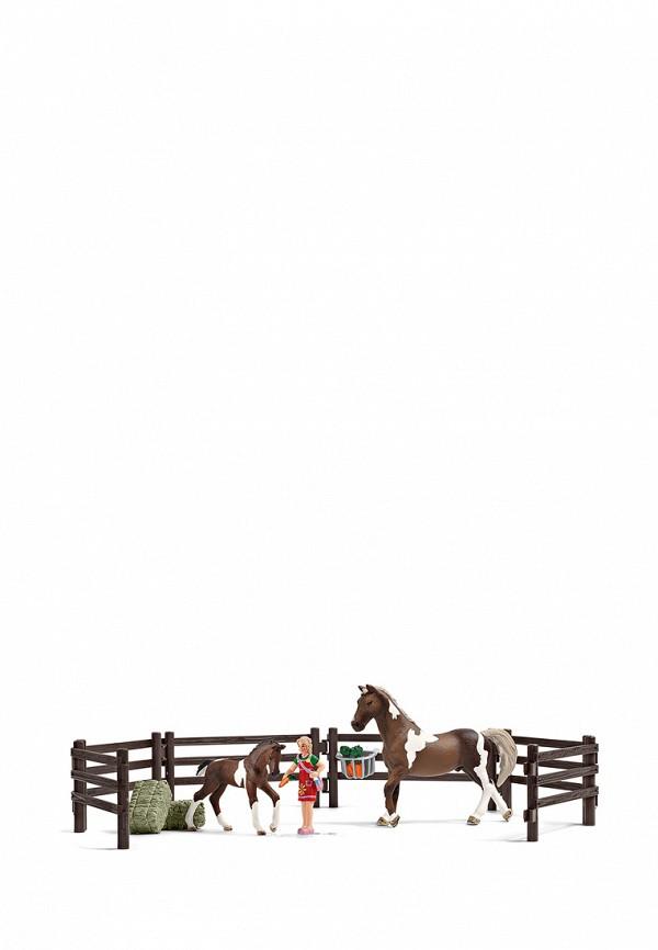 Набор игровой Schleich Schleich MP002XC006D9 конюх и исландский пони schleich