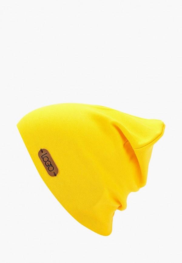 шапка logro kids малыши, желтая