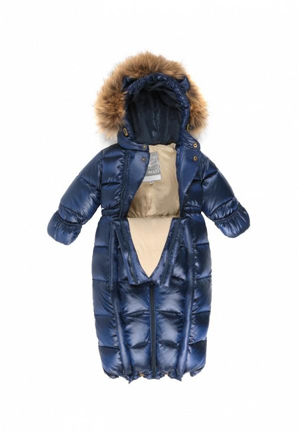 Детский комбинезон утепленный ArctiLine цвет синий  Фото 5