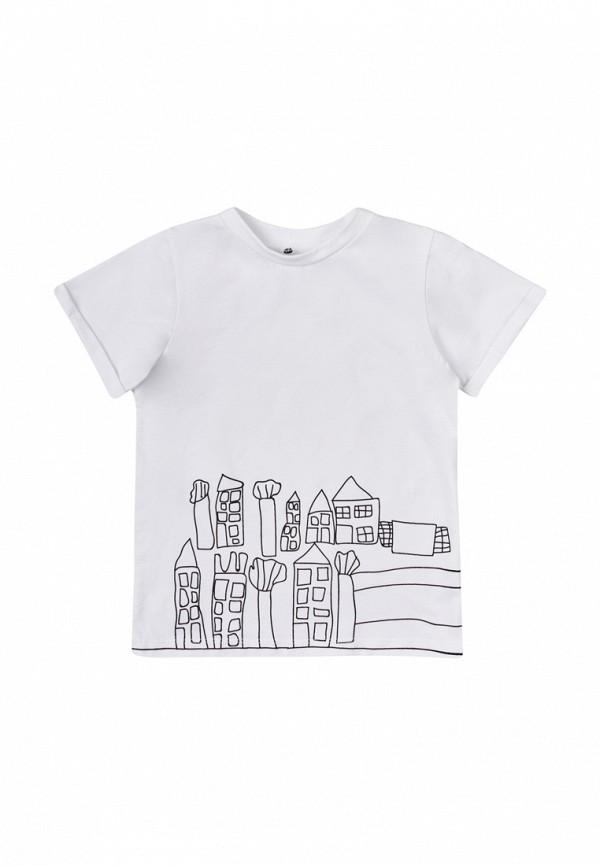 футболка с коротким рукавом garnamama малыши, белая