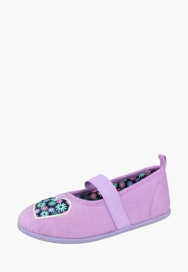 тапочки de fonseca малыши, фиолетовые