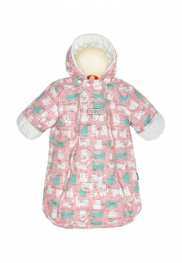 Купить Конверт Kisu, mp002xc00709, розовый, Осень-зима 2018/2019