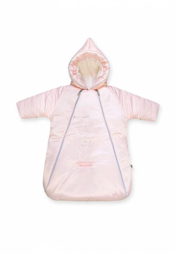 комбинезон сонный гномик малыши, розовый