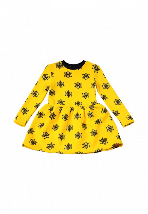 повседневные платье kids couture малыши, желтое