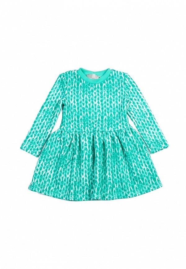 повседневные платье kids couture малыши, бирюзовое