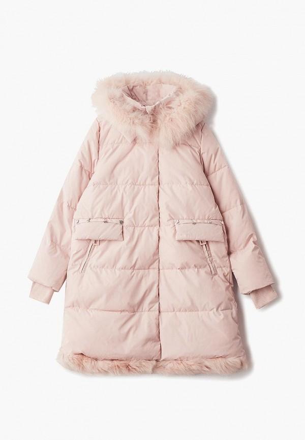 пальто mes ami малыши, розовое