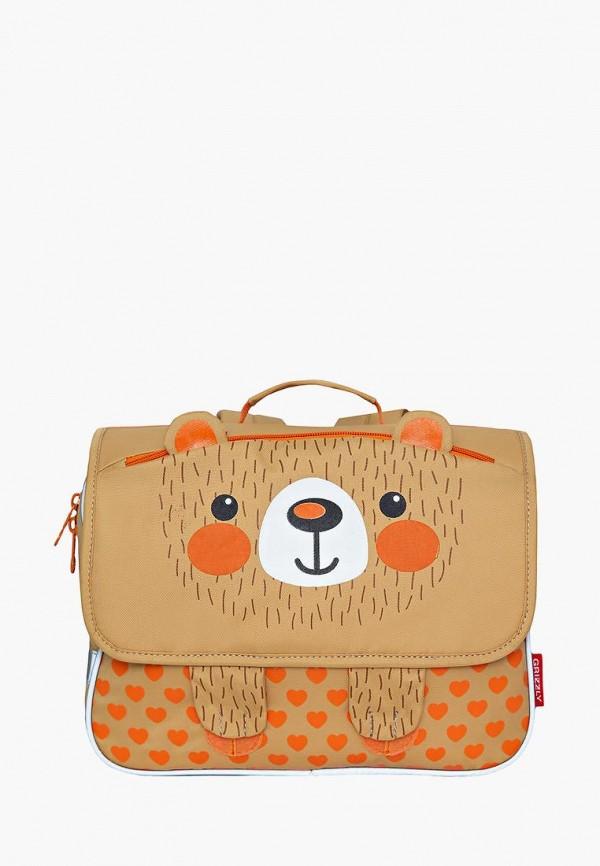 рюкзак grizzly малыши, бежевый