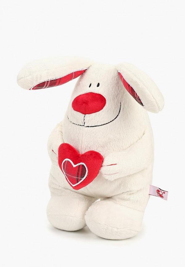 Купить Игрушка мягкая Stip, Кролик с сердцем, mp002xc007vo, белый, Весна-лето 2019