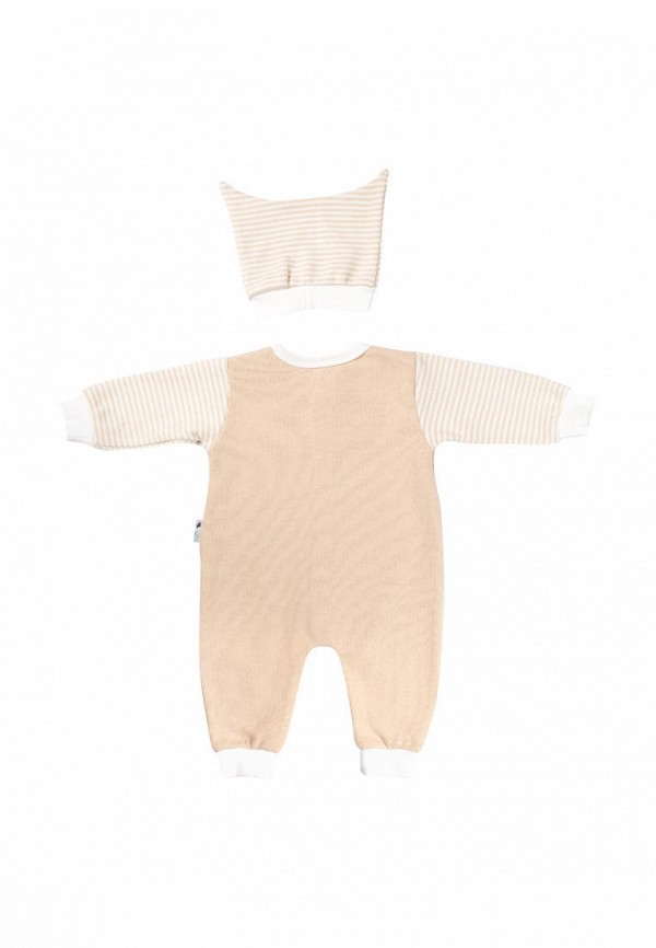 Комплект для новорожденного Клякса цвет бежевый  Фото 2