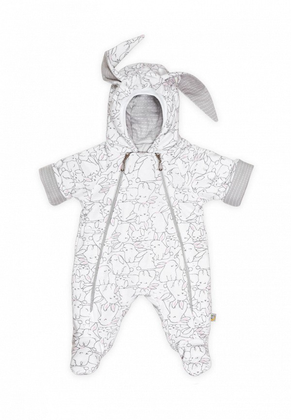 комбинезон сонный гномик малыши, белый