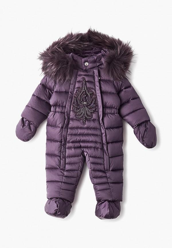 комбинезон kiwiland малыши, фиолетовый