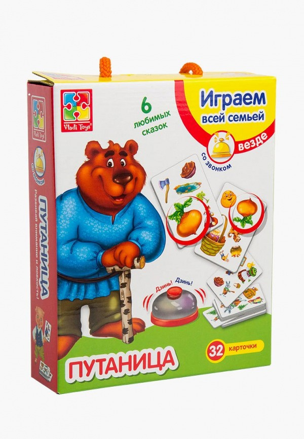 Игра настольная Vladi Toys Vladi Toys MP002XC008UI vladi toys игра фрукты овощи vladi toys