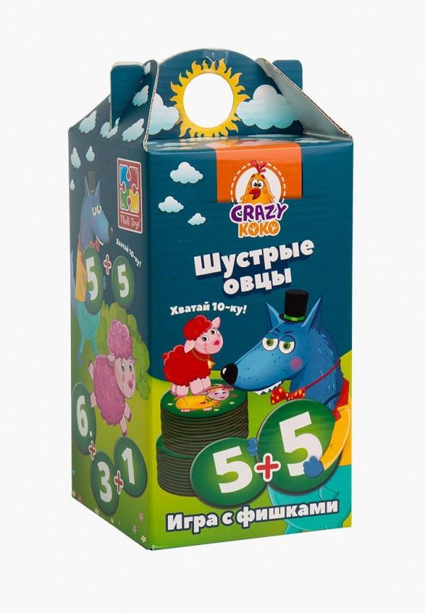 Игра настольная Vladi Toys Vladi Toys MP002XC008UO vladi toys игра фрукты овощи vladi toys