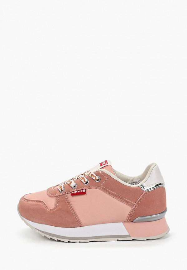 кроссовки levi's® малыши, розовые