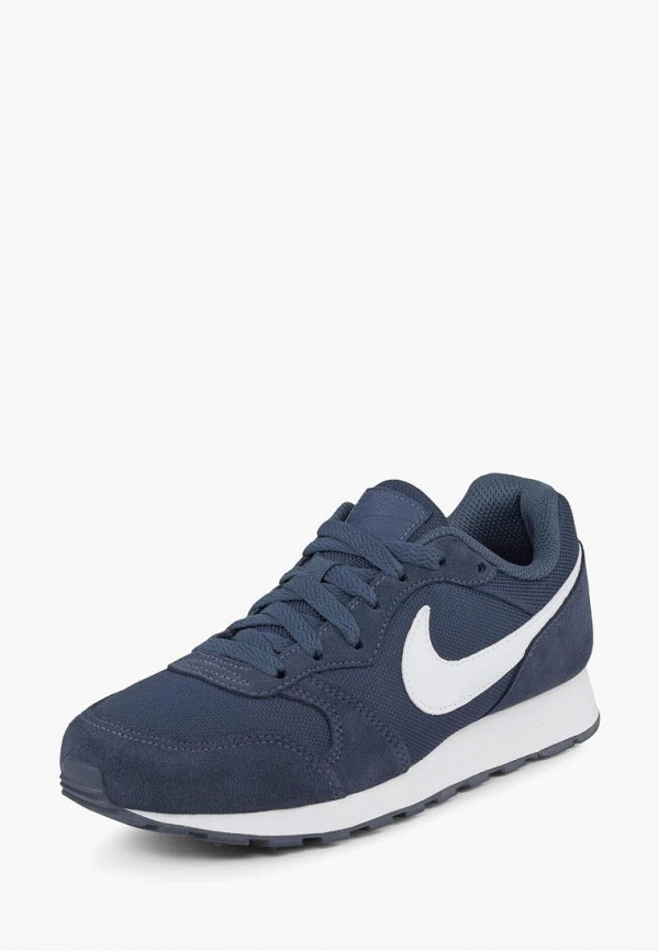 Купить Кеды, Кроссовки Nike, MD RUNNER 2 PE (GS), mp002xc009ao, синий, Весна-лето 2019