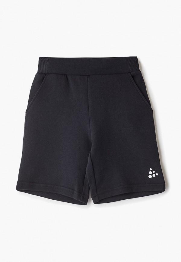 спортивные шорты craft малыши, черные
