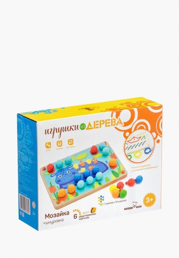 Набор игровой Игрушки из дерева Игрушки из дерева MP002XC009SV игровой набор playgo транспортые игрушки в корзине