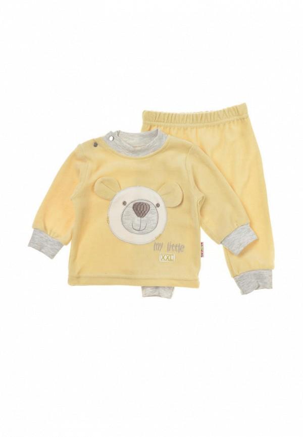 костюм фламинго текстиль малыши, желтый