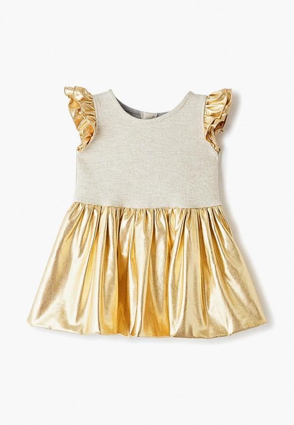 платье trendyco kids малыши, золотое