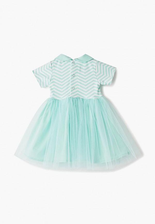 Платья для девочки Trendyco Kids цвет бирюзовый  Фото 2