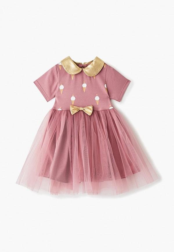 платье trendyco kids малыши, розовое