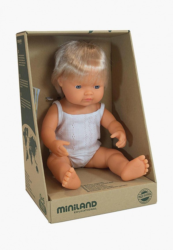 Кукла Miniland Miniland MP002XC00AEC игра настольная miniland miniland mp002xc009ov
