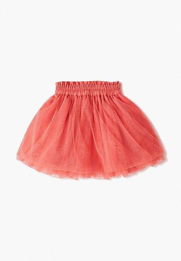 Юбка для девочки Skirts&more цвет коралловый