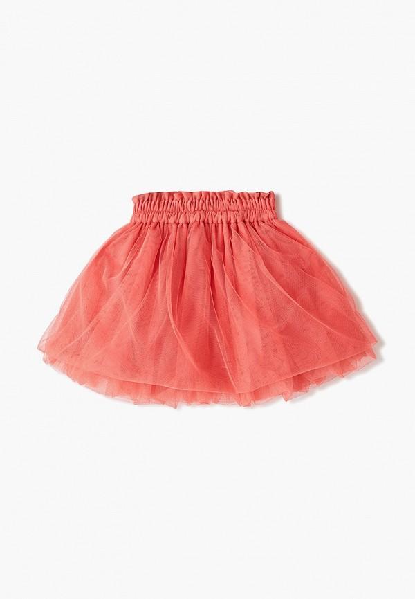 Юбка для девочки Skirts&more цвет коралловый  Фото 2