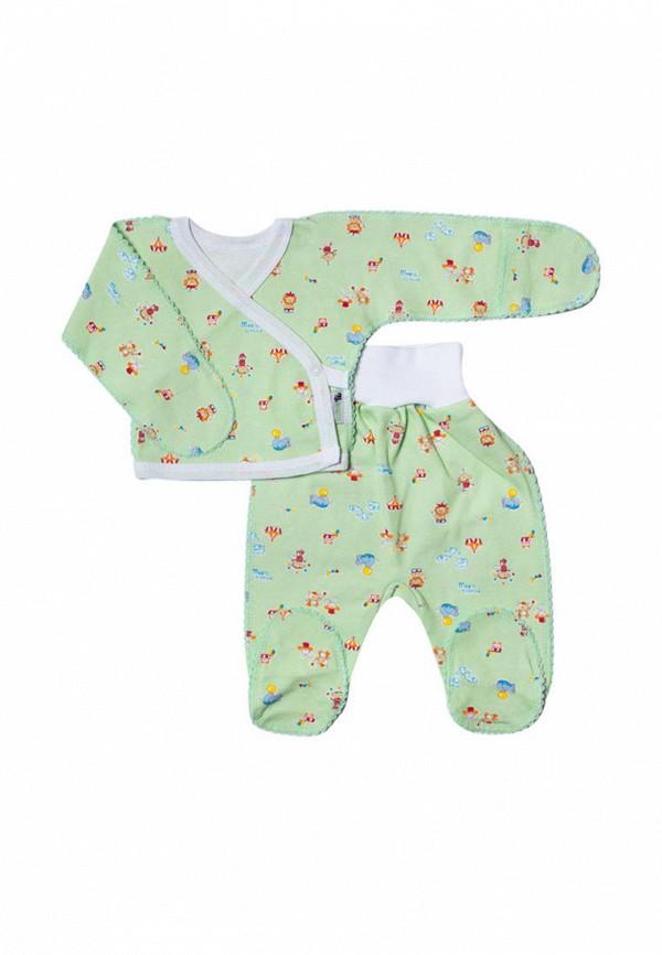 костюм клякса малыши, зеленый