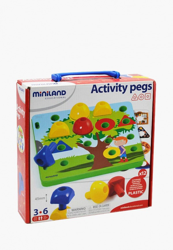 Набор игровой Miniland Miniland MP002XC00AIK набор игровой miniland miniland mp002xc00ail
