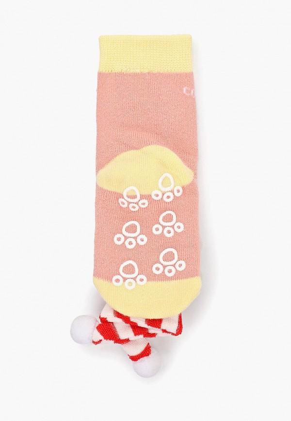 Носки для девочки Lansa цвет коралловый  Фото 2