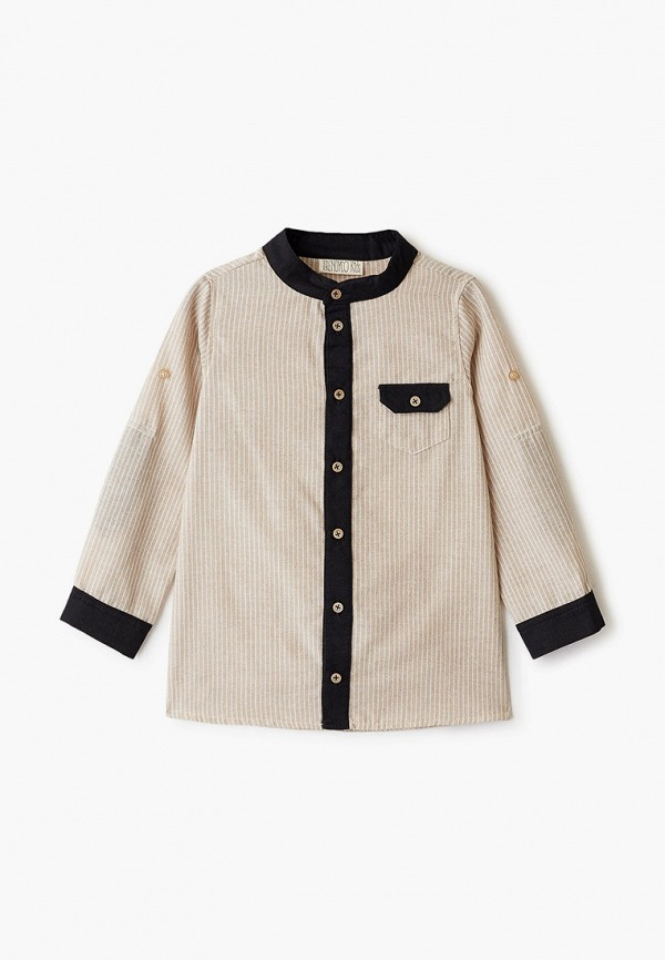 рубашка trendyco kids малыши, бежевая