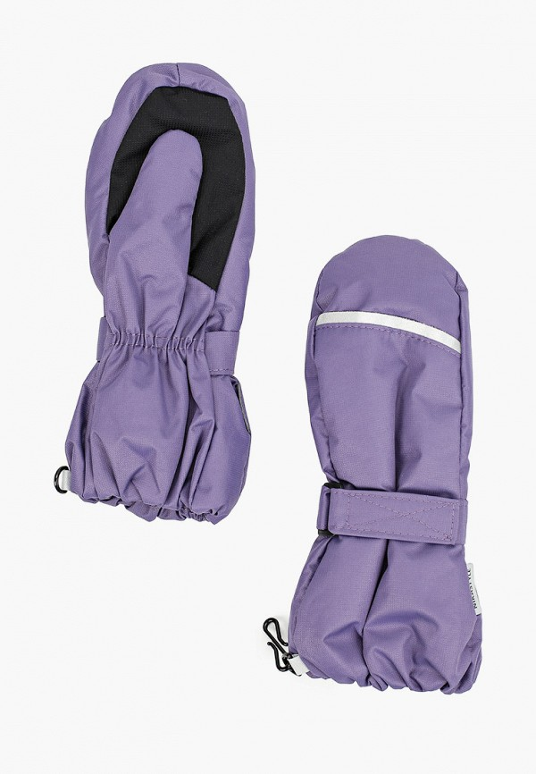 варежки nikastyle малыши, фиолетовые