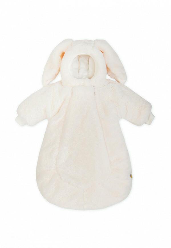 Конверт для новорожденного Сонный Гномик цвет белый