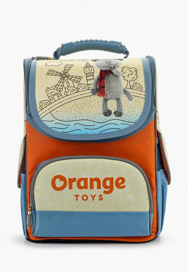 рюкзак bg малыши, оранжевый