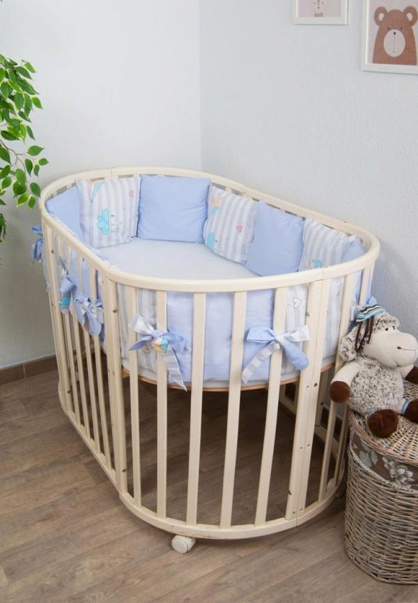 цена Бортик для детской кровати Сонный Гномик Сонный Гномик MP002XC00C6S онлайн в 2017 году
