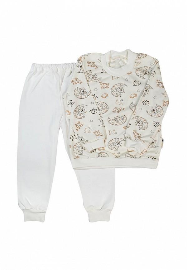 пижама клякса малыши, бежевая