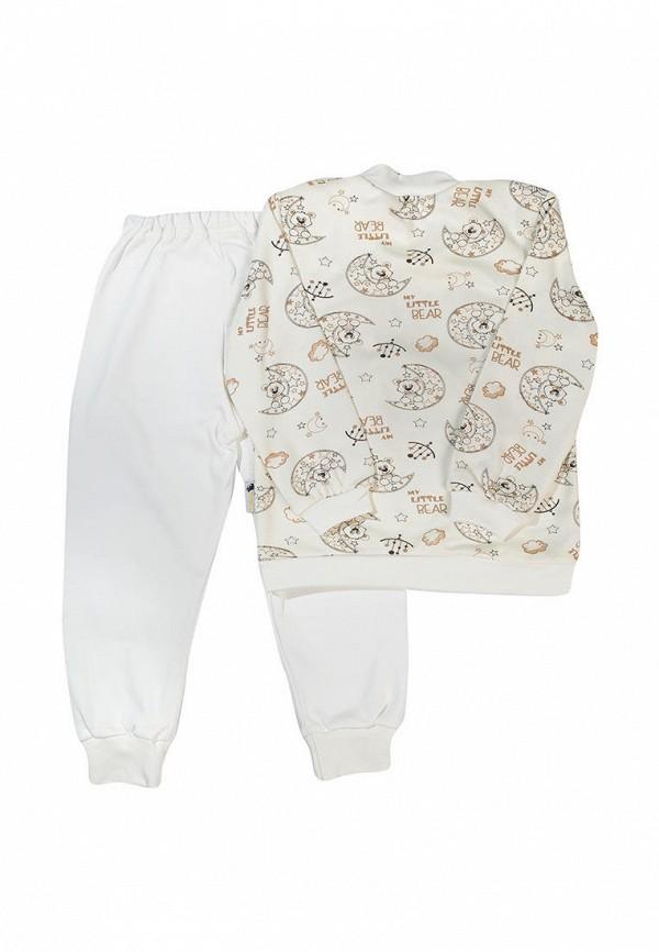Пижама для мальчика Клякса цвет бежевый  Фото 2