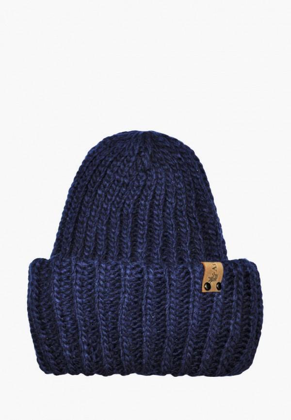 шапка anmerino малыши, синяя