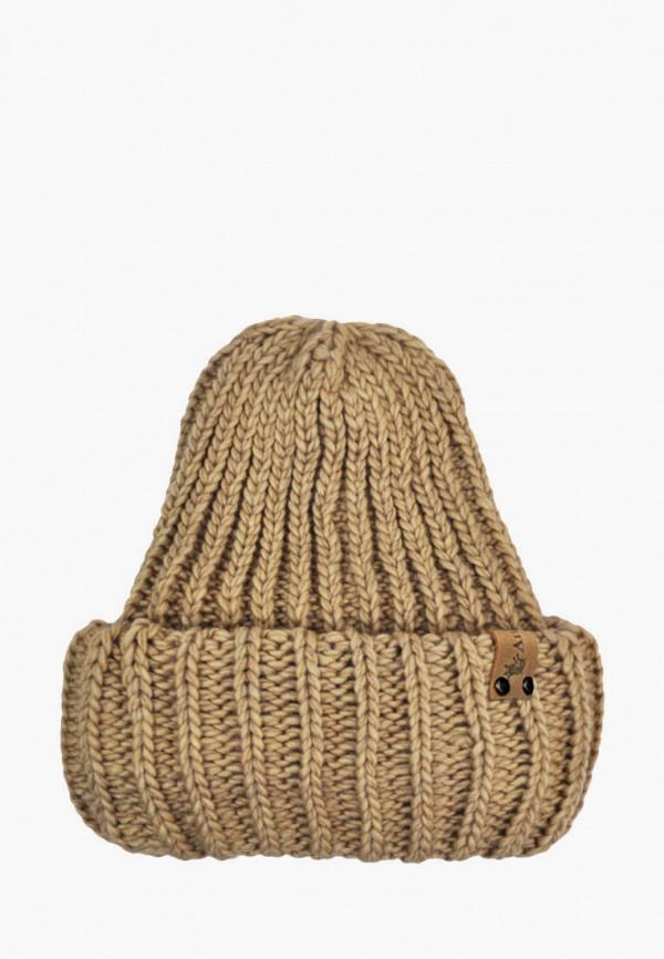 шапка anmerino малыши, бежевая
