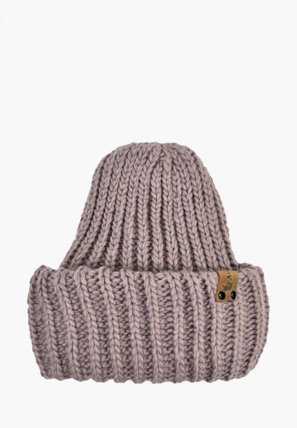 шапка anmerino малыши, фиолетовая