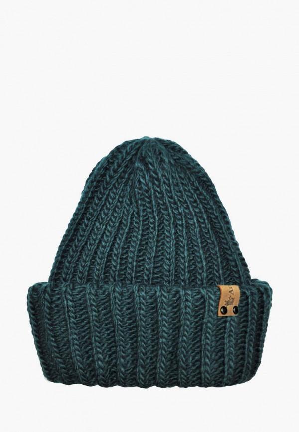 шапка anmerino малыши, бирюзовая