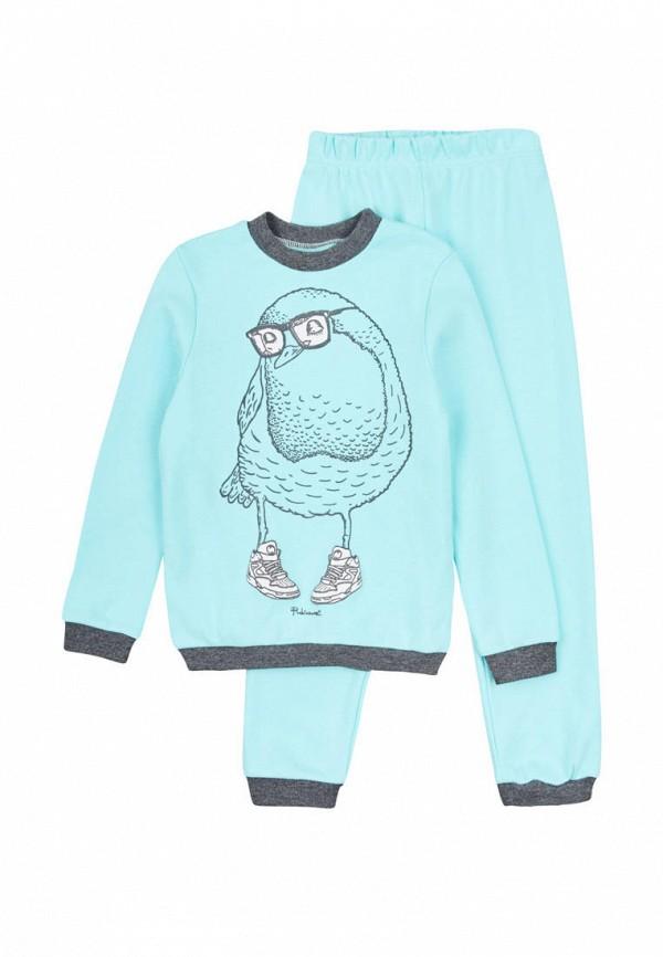 пижама robinzon малыши, голубая