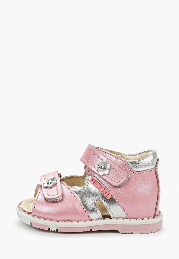 сандалии таши орто малыши, розовые