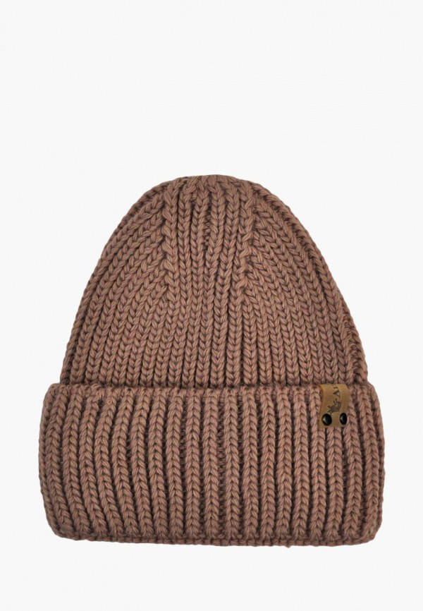 шапка anmerino малыши, коричневая